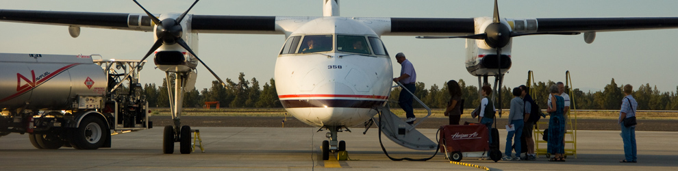 Local Airport for Bend, Redmond, Sisters and Central Oregon Robert Fields Municipal Airport, by Timothy Park