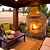 Great Portland area outdoor fireplace designs